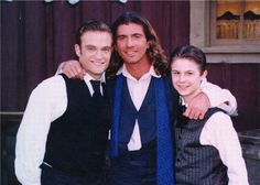 Dr. Quinn Medicine Woman   Matthew, Sully, and Brian   Chad Allen, Joe Lando, and Shawn Toovey