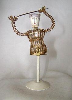 RARE Schiaparelli  'Shocking Scamp' Perfume , 1940