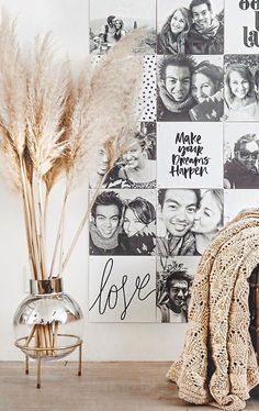 New Living Room Art Wall Ideas Inspiration Ideas Modern Wall Decor, Wall Art Decor, Room Decor, Make A Photo Collage, Mad About The House, Decorating With Pictures, Decoration Pictures, New Living Room, Dream Rooms