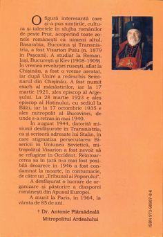 Memoriile Mitropolitului Visarion Puiu la Chișinău