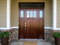 craftsman double front door. Doors Exterior Front With Two Small And Glass In The Upper Part There Is Also Interest Addition To Left Right Near Brick Wall Craftsman Double Door I