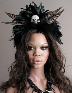Hoodoo Magick Rootwork:  Voodoo Priestess.