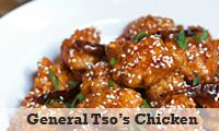 Great recipe for General Tso's Chicken. I made this last night and it was superb! Adding ginger to the sauce makes it even better.