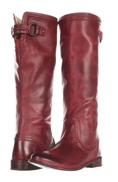 Bordeaux Riding Boots