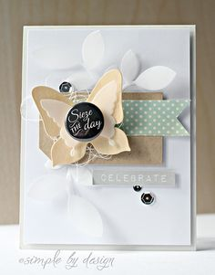 Such a great design by Joy Taylor using Simon Says Stamp Exclusive dies.  June 2014
