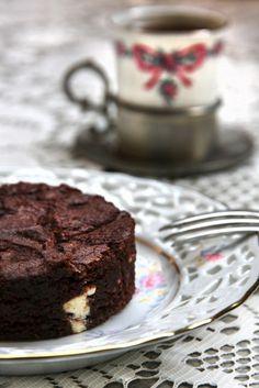 Brownies mit weißer Schokolade und Tonkabohne