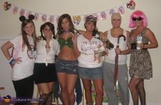 If only my friends would do this... Stages of britney costumes