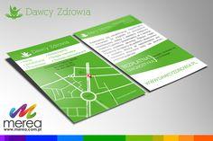 Projekt graficzny oraz druk ulotek www.merea.com.pl