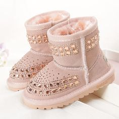 Just like this! Girls Fashion Winter Warm Snowboots. For 9 Months-4 Years Old Girl #Popreal #Snow boots for girl #snowboots #girl boots #winter boots
