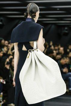 Oversized Bag - runway accessories; chic handbag // Miu Miu Fall 2013