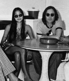 John Lennon and May Pang Imagine John Lennon, John Lennon Beatles, The Beatles, Polythene Pam, The Lost Weekend, All My Loving, Yoko Ono, The Fab Four, Music People