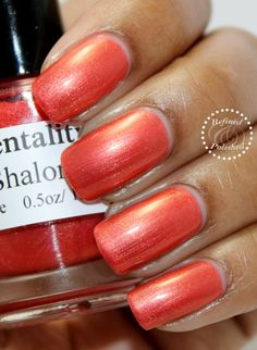 Mentality-Shalon swatch by Refined and Polished. Thanks!