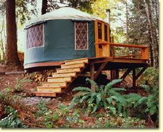 Articles about yurt ancient dwelling modern lifestyle. Dwell is a platform for anyone to write about design and architecture. Yurt Living, Outdoor Living, Buy A Yurt, Pacific Yurts, Yurt Home, Yurt Camping, Yurt Tent, Backyard Studio, Future House