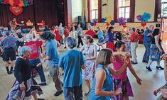 Santa Cruz's Regular Contra Dances Provide Fun and Exercise Santa Cruz's vibrant Contra Dance community emphasizes inclusivity and playful creative energy Organizers, Good Times, Vibrant, Community, Exercise, Dance, Creative, Fun, Collection