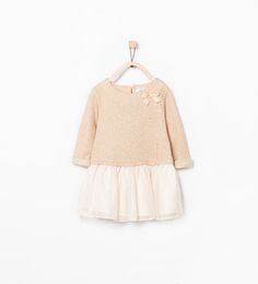 COMBINED SPARKLY DRESS-Dresses-Baby girl (3 months - 3 years)-KIDS | ZARA United States
