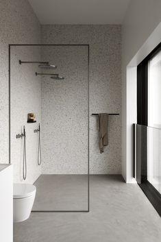 Contemporary Bathroom Design - Interior Decor and Designing Bad Inspiration, Bathroom Inspiration, Small Bathroom, Master Bathroom, Bathroom Ideas, Wet Room Bathroom, Master Bath Shower, Shower Rooms, Bathroom Canvas