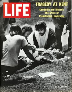 1970 tragedy at Kent. OSU students cried too.
