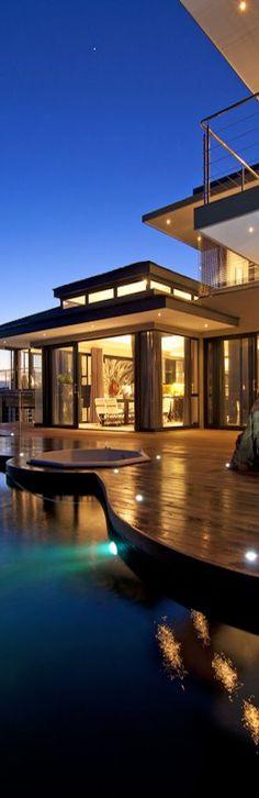 Millionaire Beach House- Via ~LadyLuxury~  #luxuryvilla #modernarchitecture #luxurydesign #moderndesign #luxuryhomes