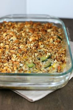 Emily Bites - Weight Watchers Friendly Recipes: Zucchini Casserole