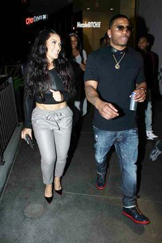 Nelly and girlfriend Shantel Jackson - attend Nellyville Premiere