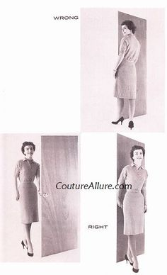 How to Enter a Room Like a Lady. Circa 1960s. I'd better start practicing.