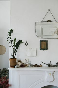 Nicole Franzen Styling and Photography Mantel, Remodelista