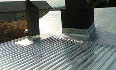 Roof Treatment with UV Resistant Silver Aluminium Protective Paint & Installation of IBR Galvanized Roof Sheets rolled out by Paramount Metal Concepts