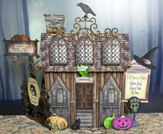 Artfully Musing: GET READY FOR THE HAUNTED VILLAGE HALLOWEEN EVENT - STARTS SEPTEMBER 6, 2015