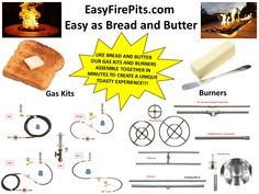 """T48K++ DIY PRE-PLUMBED GAS FIRE PIT KIT /& 48/"""" LIFETIME WARRANTED 316 BURNER"""