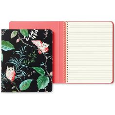 kate spade new york Birch Way Spiral Notebook (18 AUD) ❤ liked on Polyvore featuring home, home decor, stationery and birch way