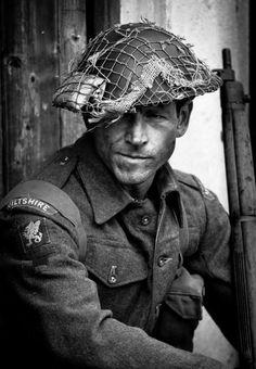 British Soldier of the Wiltshire regiment during WW2 [500x722]