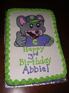 Chuck E Cheese birthday Cakes by ME Pinterest Birthdays