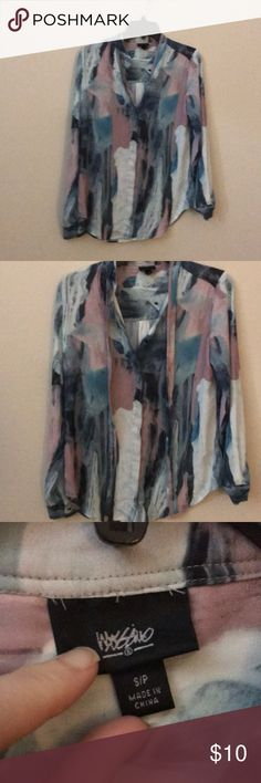 Mossimo long sleeved dress top like new Sm Slightly oversized Mossimo Supply Co Tops