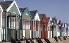 Beach huts are bucking the economic trend with buyers splashing out a time for the sea-view sheds. Beach Shack, Beach Huts, Little Greene Paint Company, Backyard Buildings, English Heritage, I Love The Beach, Beach Cottages, Architecture Details, Beautiful Beaches