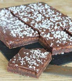 Dessert Cake Recipes, Brownie Recipes, Chocolate Recipes, Cake Cookies, Cookies Et Biscuits, Wine Recipes, Baking Recipes, Vegetarian Desserts, Swedish Recipes