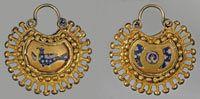 Kolts - temporal ancient women's jewelry of Kievan Rus'