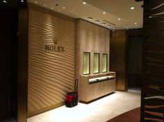 ROLEX  Location: Tampa Manufacture & Design of Store Fixtures by Artco Group