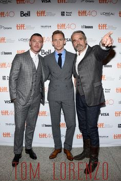 Evans , Hiddles and Jeremy Irons