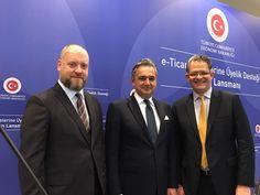 Sayın Ekonomi Bakanımız Nihat Zeybekçi himayelerinde e-Ticaret Sitelerine Üyelik Desteği basın lansmanındayız.