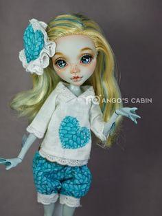 "Monster High Repaint Custom OOAK ""Love"" by Mango's Cabin 4 Adult Mattel | eBay"
