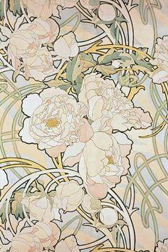 47 Ideas vintage flowers illustration art nouveau alphonse mucha for 2019 - Art Deco Fleurs Art Nouveau, Motifs Art Nouveau, Art Nouveau Mucha, Alphonse Mucha Art, Motif Art Deco, Art Nouveau Flowers, Art Nouveau Design, Art Nouveau Tattoo, Art Nouveau Pattern