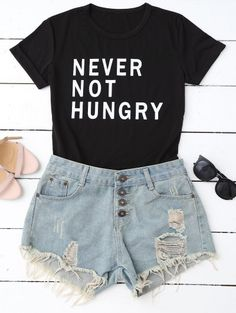SHARE & Get it FREE | Funny Graphic T-Shirt - BlackFor Fashion Lovers only:80,000+ Items • New Arrivals Daily Join Zaful: Get YOUR $50 NOW!