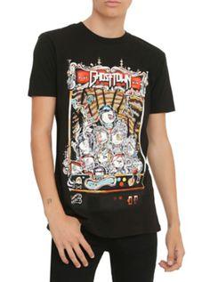 Ghost Town Arcade Claw T-Shirt