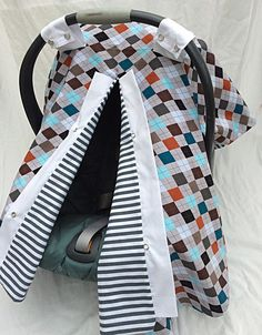 A personal favorite from my Etsy shop https://www.etsy.com/listing/230265388/car-seat-cover-boy-carseat-cover-car