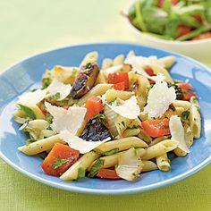 Herbed Penne with Simple Grilled Vegetables | MyRecipes