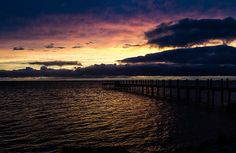 Obx Sunset by James Chesnick  #nc, #sunset, #beach