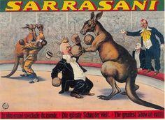 circusposter sarassani by janwillemsen, via Flickr