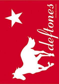 51284 Deftones Red Pony Fabric Poster – Preegle.com