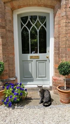 80 Beautiful Front Yard Cottage Garden Landscaping Ideas - Wholehomekover Double front door entrance foyers Ideas - Door Double Entrance Foyers F. Cottage Front Doors, Front Door Porch, House Front Door, Cottage Door, Country Front Door, Victorian Front Doors, Cottage Windows, Porch Doors, Cottage Exterior