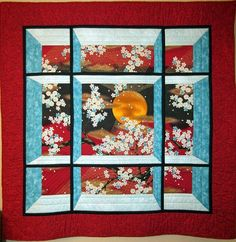 attic+window+quilts+with+a+view | Quilting: 9 Quilts by Susan Garmston